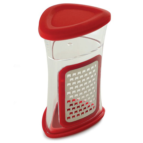 Ginger Grater, Nutmeg Grater For Garlic, Cheese, Chocolate, Seed, Red