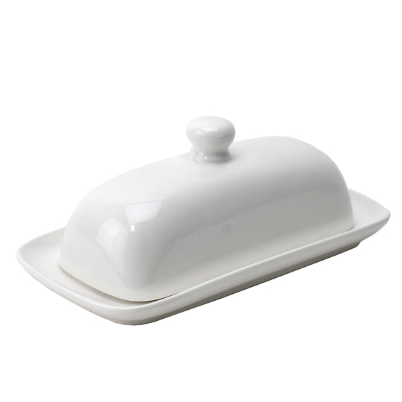 Ceramic Butter Dish, French Country Vintage Butter Dish With Handle