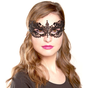 Masquerade Masks Bulk, Lace Sexy Venetian Masquerade Party Supplies - Black
