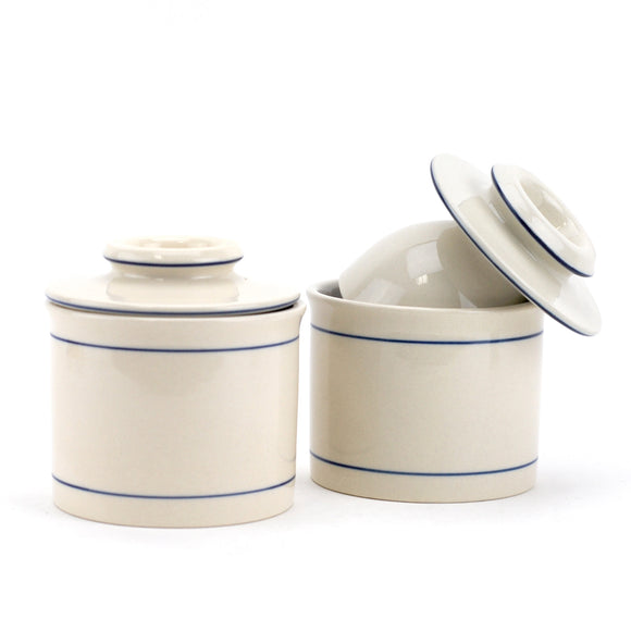 Lock And Lock Butter Keeper, French Porcelain Butter Keeper Dish (pack Of 2)