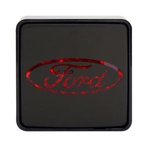 Trailer Hitch Covers, Tow Car Led Lighted Truck Hitch Cover Ford Logo