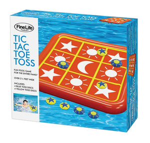 Floating Pool Toys, Plastic Water Floats For Kids, Tic-tac-toe Toss Game