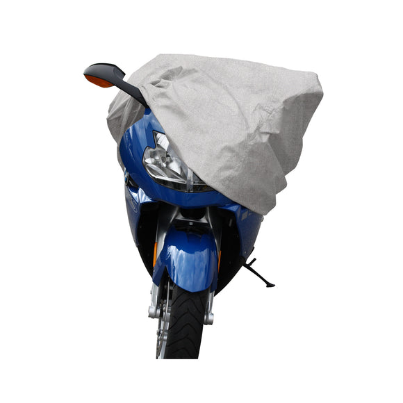 Silver Motorcycle Cover, Premium Medium Rain Cover For Motorcycle Weatherproof
