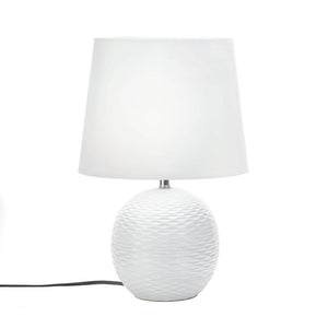 Table Lamps For Living Room, White Modern Small White Bedside Lamp For Bedrooms