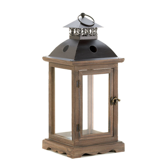 Candle Lantern Outdoor, Antique Metal Monticello Hanging Candle Lantern Holder