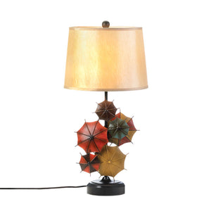 Art Desk Lamp, Iron Umbrellas Living Room Table Lamps For Bedroom