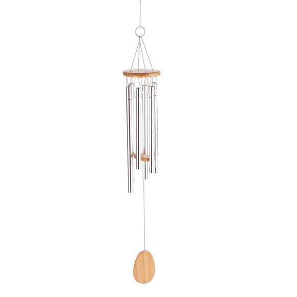 Wind Chimes Small, Best Of Garden Wind Chimes Sound - Long Aluminum Metal, Wood