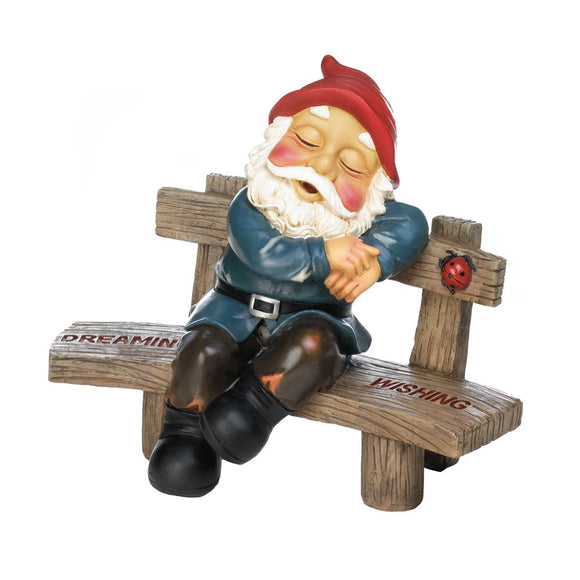 Garden Gnomes, David Mini Squatting Garden Gnome Yard Door