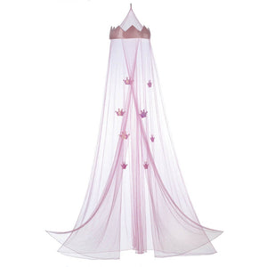 Bed Canopy Queen, Mosquito Bed Canopy For Girls, Tulle Pink Princess Bed Canopy
