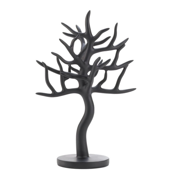 Jewelry Holder, Jewelry Tree Organizer For Hanging Necklaces Earring Black
