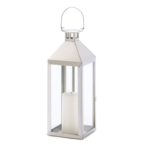 Candle Holder Lantern, Stainless Steel Candle Lanterns Decorative