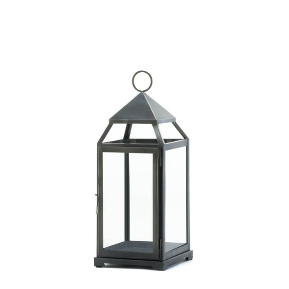 Candle Lanterns Decorative, Rustic Metal Outdoor Lanterns For Candles