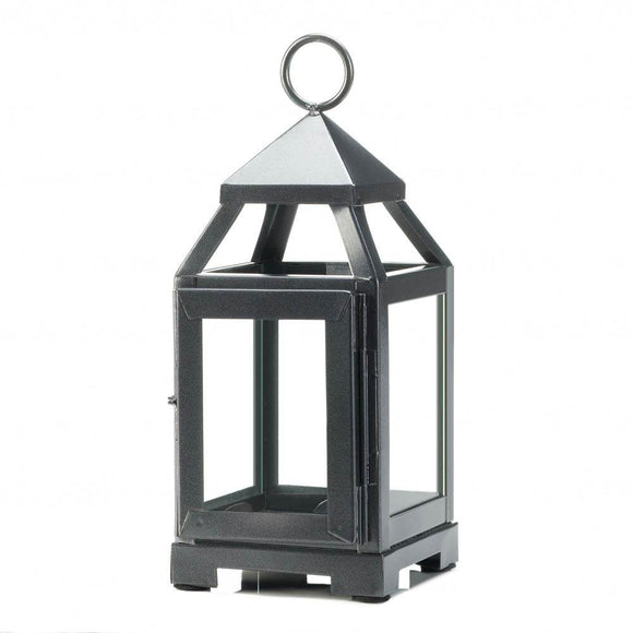 Decorative Lanterns For Candles, Patio Rustic Mini Metal Candle Lantern Holder