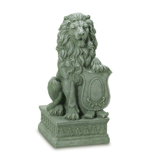 Lion Statue Garden, Outdoor Statues Lion Guardian Home Decor - Poly Resin