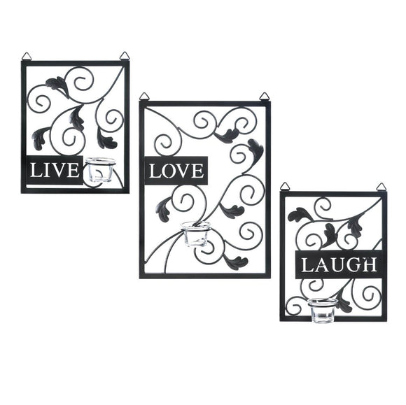 Decorative Metal Wall Decor, Rustic Wrought Iron Wall Decorations