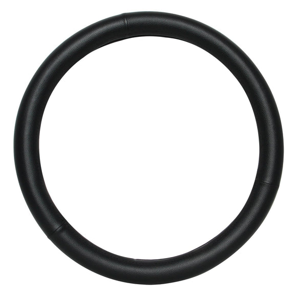 Universal Steering Wheel Cover, Synthetic Leather Steering Wheel Cover Black