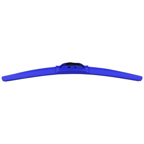 Windshield Wiper, Frameless 22inch Blue Universal Auto Windshield Wiper Blades