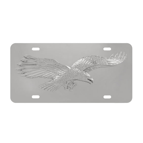 Universal License Plate, Cool Automotive 3d Eagle Stainless Steel License Plates