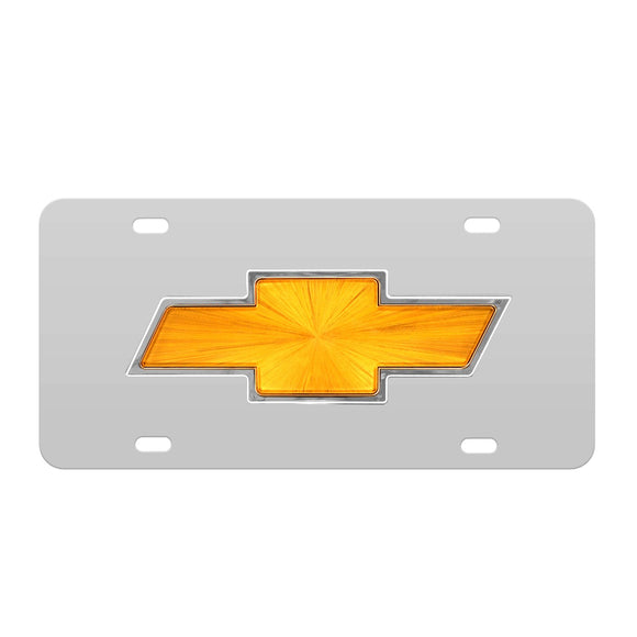 License Plates, Chevy Bowtie Logo Front License Plate Decorative For Truck Ss