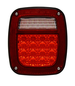 Jeep Led Tail Lights, Driving License Led Lights Jeep Wrangler Tj Assembly