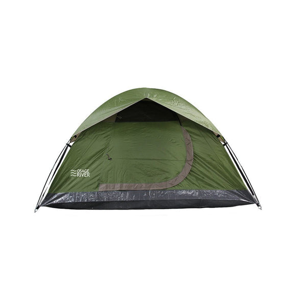 Outdoor Tent, Osage River Olive Heavy Duty Waterproof 2-person Backpacking Tent