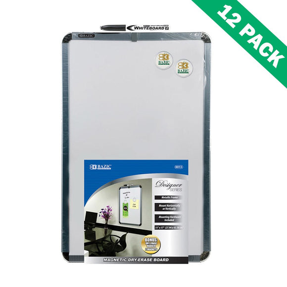 Dry-erase Board, Professional Mounting Magnetic Dry Erase Boards Set Of 12