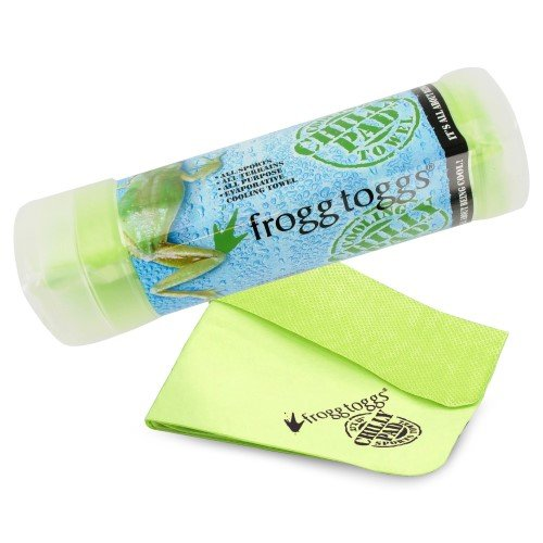 Frogg Toggs Chilly Pad Green, Soft Comfort Frogg Toggs Chilly Pad Cooling Towel