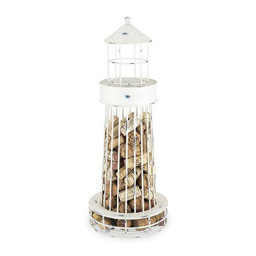 Cork Holders Wine Decor, Twine Decorative Lighthouse Wine Cork Holder - Metal