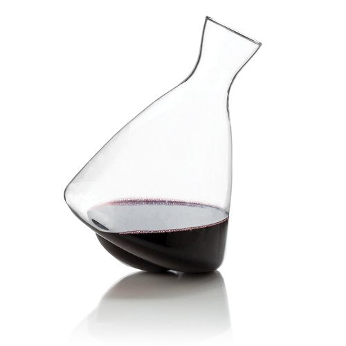 Wine Decanter, Viski Glass Decanters For Red Wine Decanting - Crystal