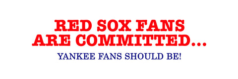 red sox bumper sticker