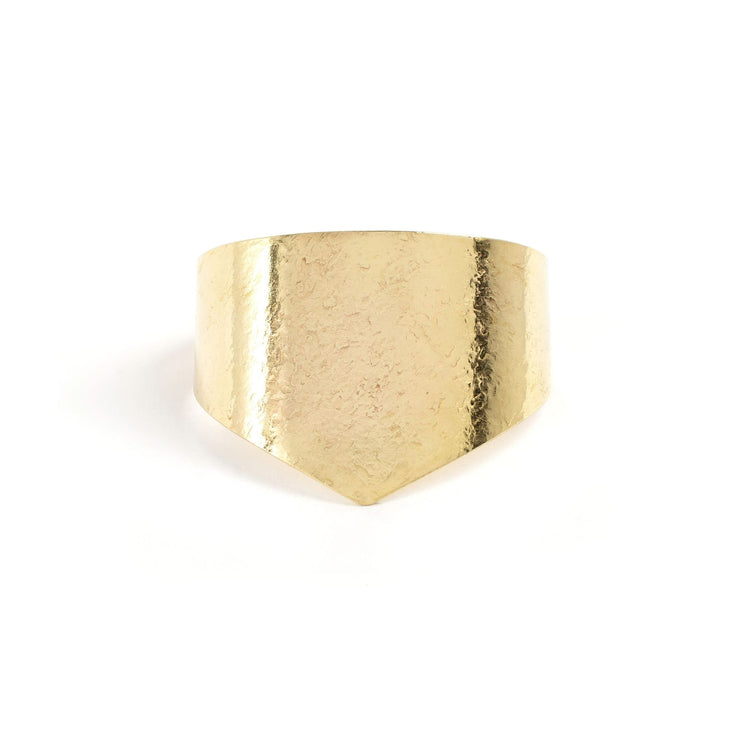 Amelia Cuff - Small / Brass / Polished - Cuffs / Bracelets