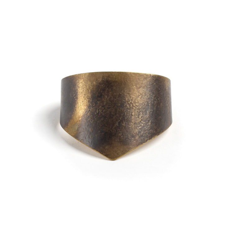 Amelia Cuff - Small / Brass / Work Patina - Cuffs /