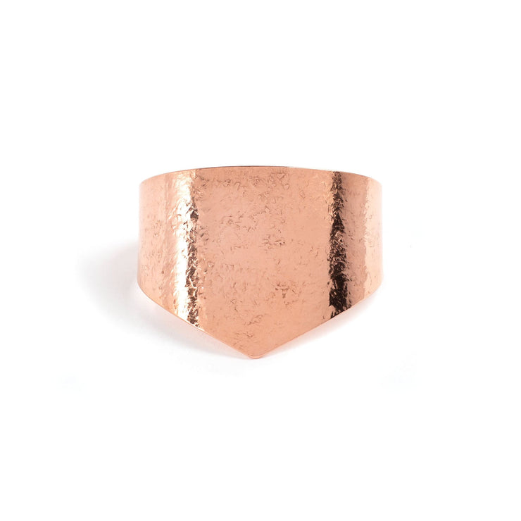 Amelia Cuff - Small / Copper / Polished - Cuffs / Bracelets