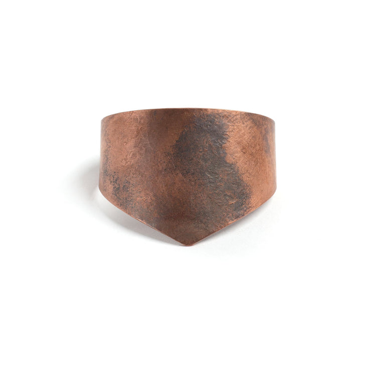 Amelia Cuff - Small / Copper / Work Patina - Cuffs /