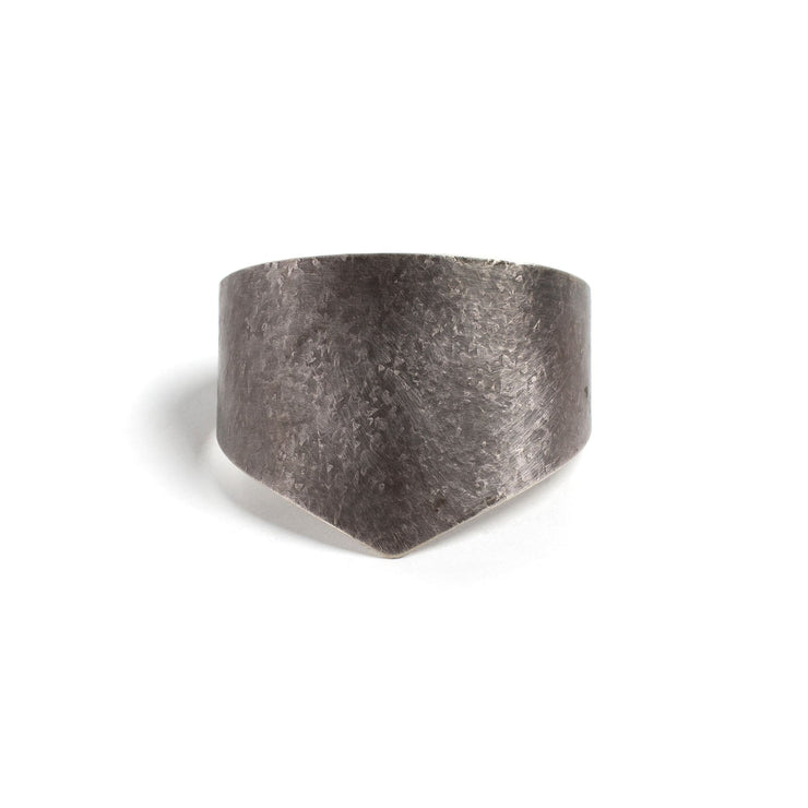 Amelia Cuff - Small / Sterling Silver / Work Patina - Cuffs