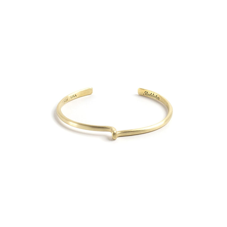 Avanti Cuff - Small / Brass / Brushed - Cuffs / Bracelets