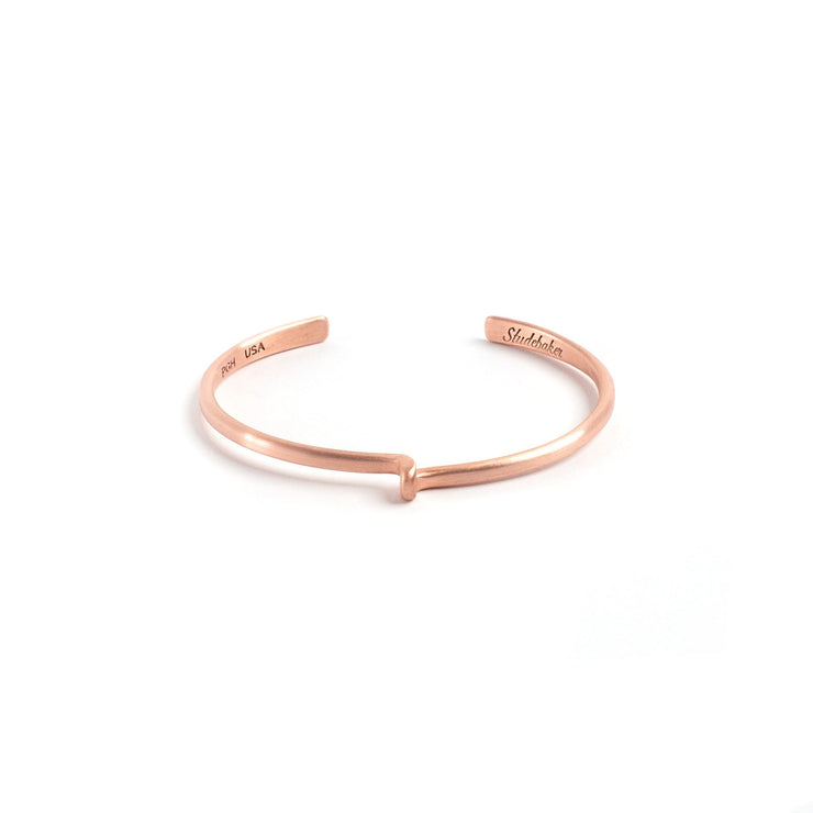 Avanti Cuff - Small / Copper / Brushed - Cuffs / Bracelets