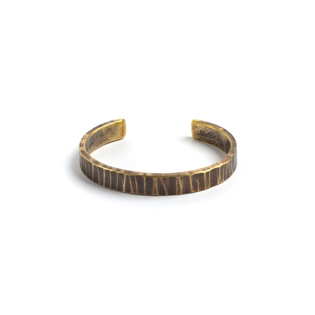 Bessemer Cuff - Small / Brass / Work Patina - Cuffs /