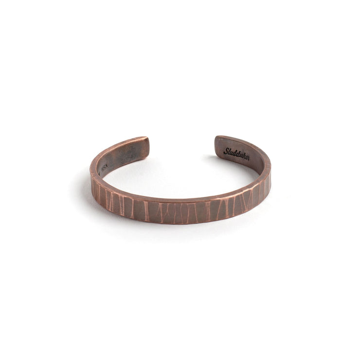 Bessemer Cuff - Small / Copper / Work Patina - Cuffs /