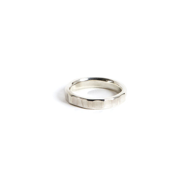 Bessemer Ring - 4mm / 4 / Sterling Silver / Polished - Rings