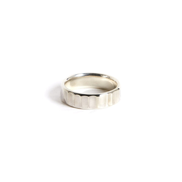 Bessemer Ring - 6mm / 4 / Sterling Silver / Polished - Rings