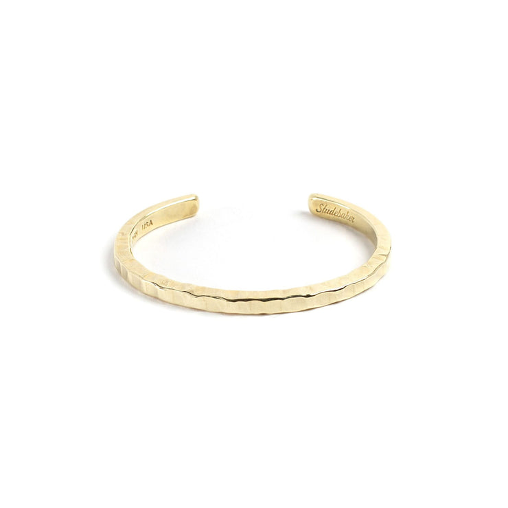 Braddock Cuff - Small / Brass / Polished - Cuffs / Bracelets