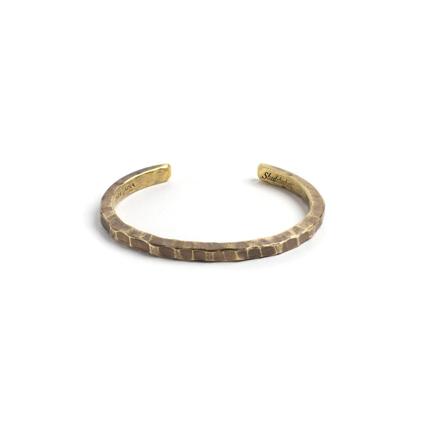 Braddock Cuff - Small / Brass / Work Patina - Cuffs /