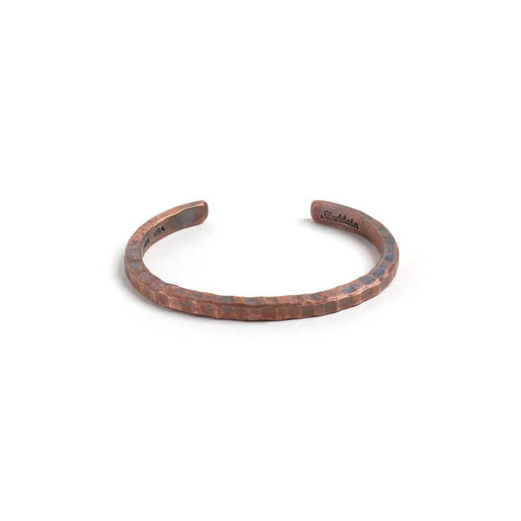 Braddock Cuff - Small / Copper / Work Patina - Cuffs /