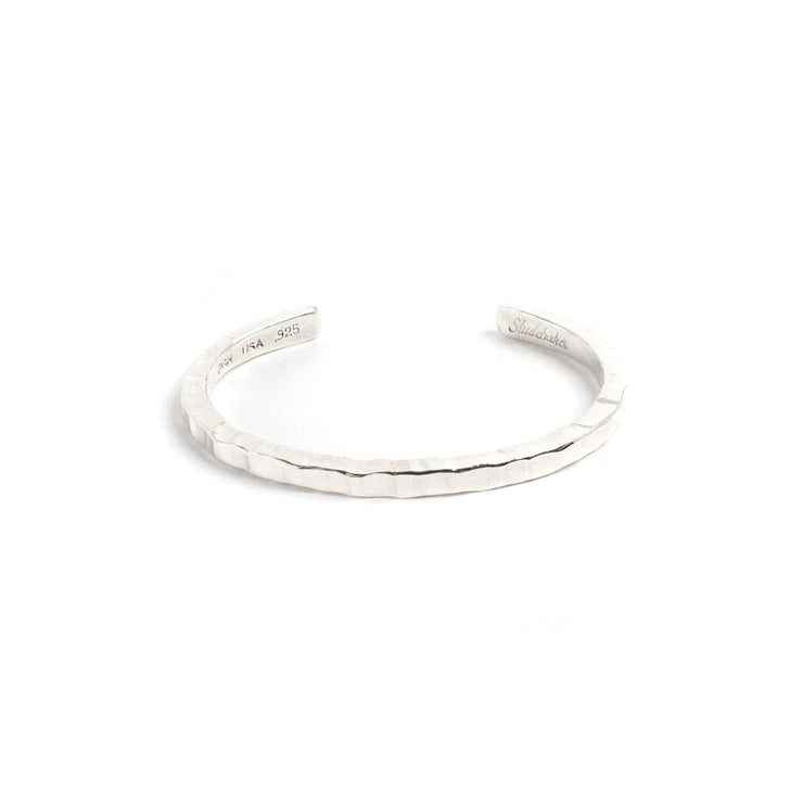 Braddock Cuff - Small / Sterling Silver / Polished - Cuffs /