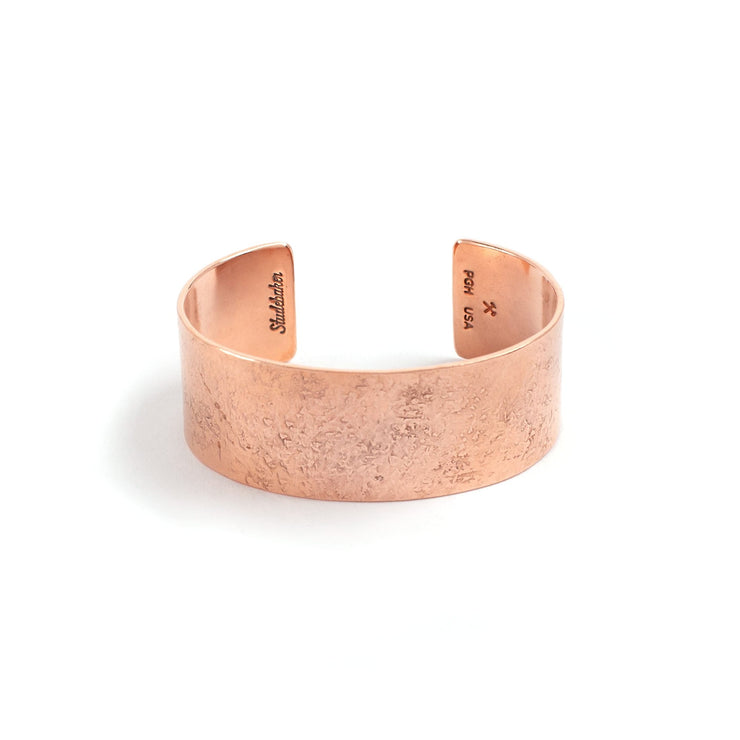Broad Cuff - 1 inch - Small / Copper / Polished - Cuffs /