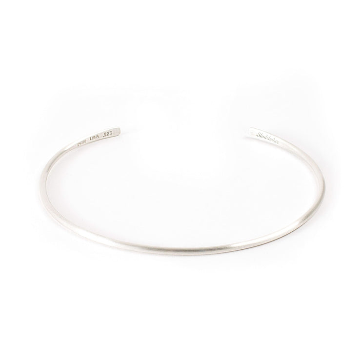 Champion Choker - Sterling Silver / Brushed - Necklaces