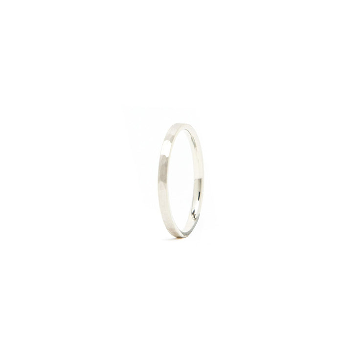 Classic Band Ring / Sterling Silver - 2mm / 4 - Rings