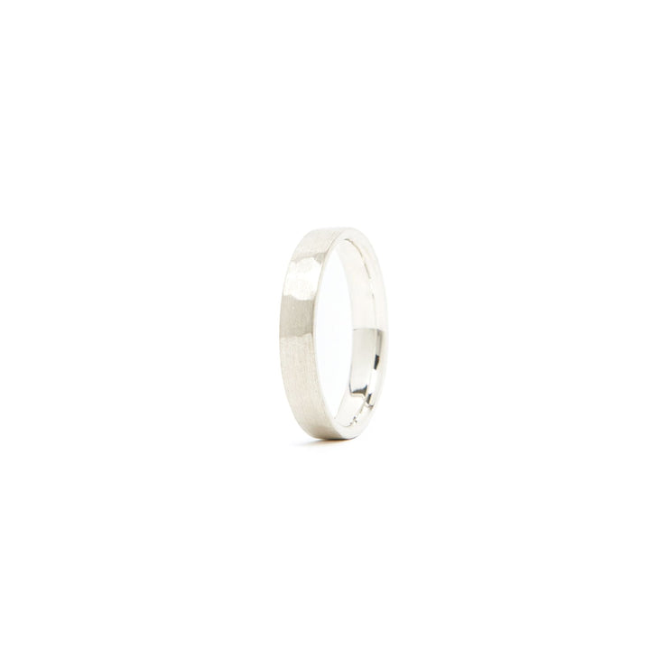 Classic Band Ring / Sterling Silver - 4mm / 4 - Rings