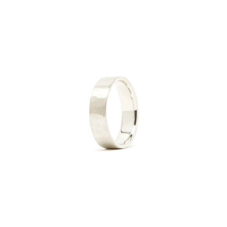 Classic Band Ring / Sterling Silver - 6mm / 4.5 - Rings